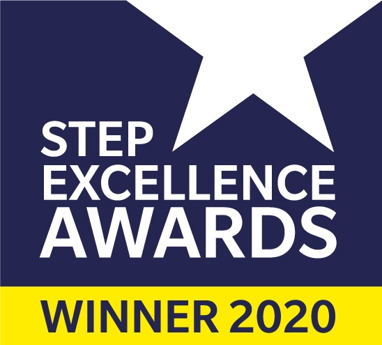 STEP Excellence awards winner 2020 logo RGB